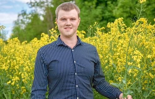 """Zemnieku saimniecība """"Lazdiņi"""" – jauns lauksaimnieks, strauja izaugsme"""