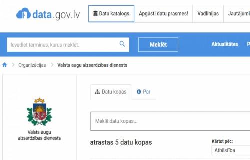 Latvijas Atvērto datu portālā pieejama sēklu aprites statistikas informācija