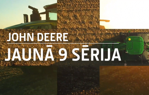 Iepazīsties ar John Deere 9. sēriju